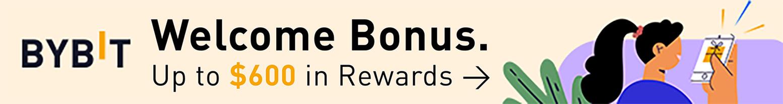 Bonus de bienvenue Bybit: jusqu'à 600$ de récompenses